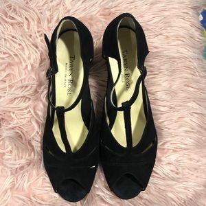 Shoes - Taryn Rose Black Heels size 41